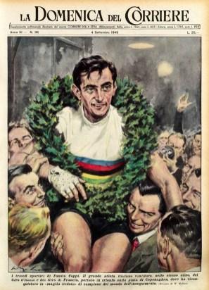 Achille Beltrame, 1949 Coppi campione del mondo inseguimento