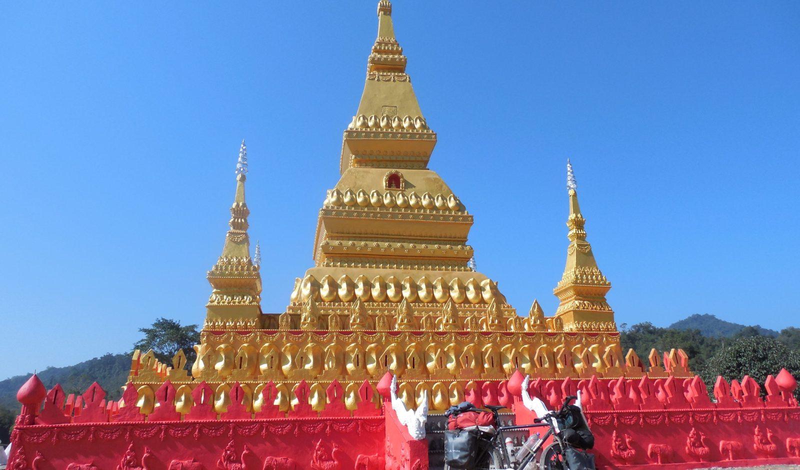 colourful stupa
