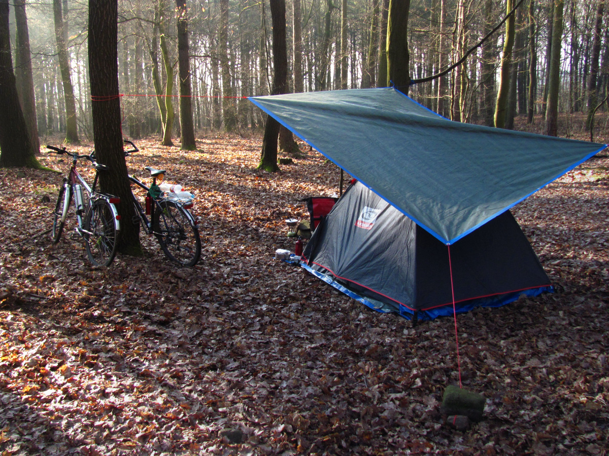 Easter camping