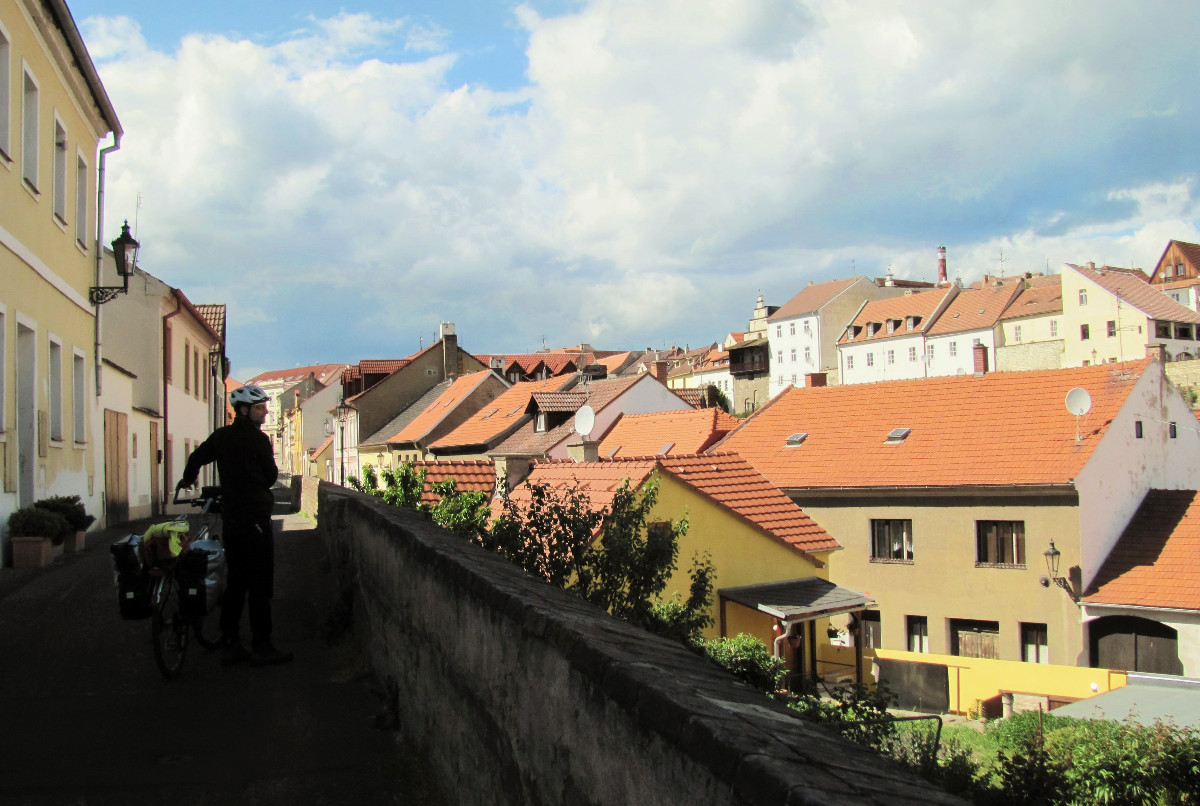 View over rooftops of Litomerice