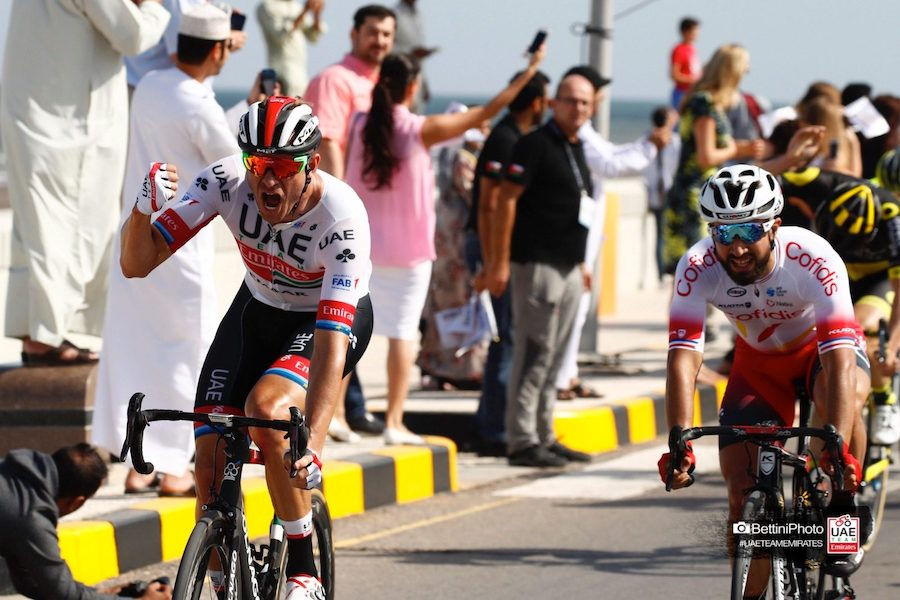 153ab4db70e 2019 Tour of Oman: Stage 1 Results
