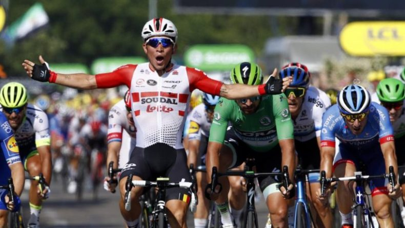 Caleb Ewan notches second stage win at 2019 Tour de France