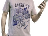Camiseta casual Urban SP - Urban Series cinza