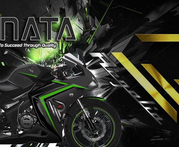 Genata Regalia 'Special Edition' 125 Black/Green