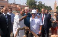 الرئيس الأمريكي الأسبق ''بيل كلينتون'' يتجول في مراكش
