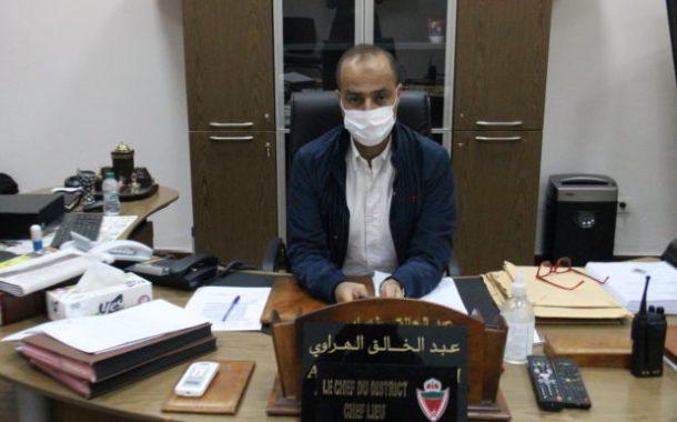 المهنية العالية والعمل الدؤوب.. المنطقة الأمنية الفداء مرس السلطان نموذجا