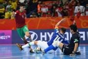 كأس العالم لكرة القدم داخل القاعة ليتوانيا 2021.. المنتخب الوطني المغربي ينهزم في دور الربع أمام المنتخب البرازيلي ب(0 -1) ويخرج من المونديال مرفوع الرأس