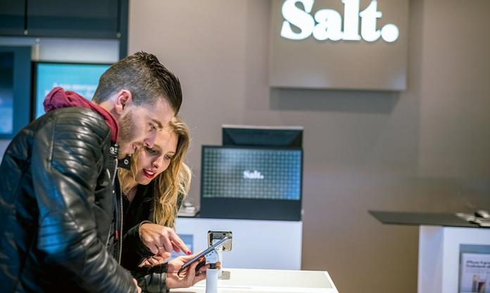 """Salt will offer 5G to its customers """"before the end of 2019"""", promises its CEO. (Credits: Salt)"""