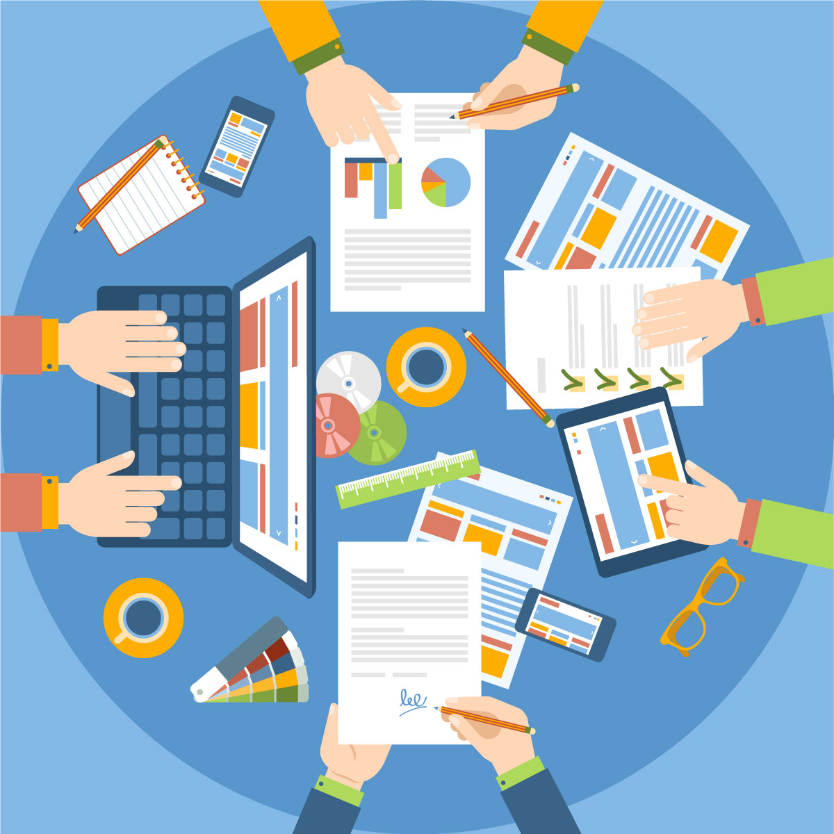 Share metrics with Employees