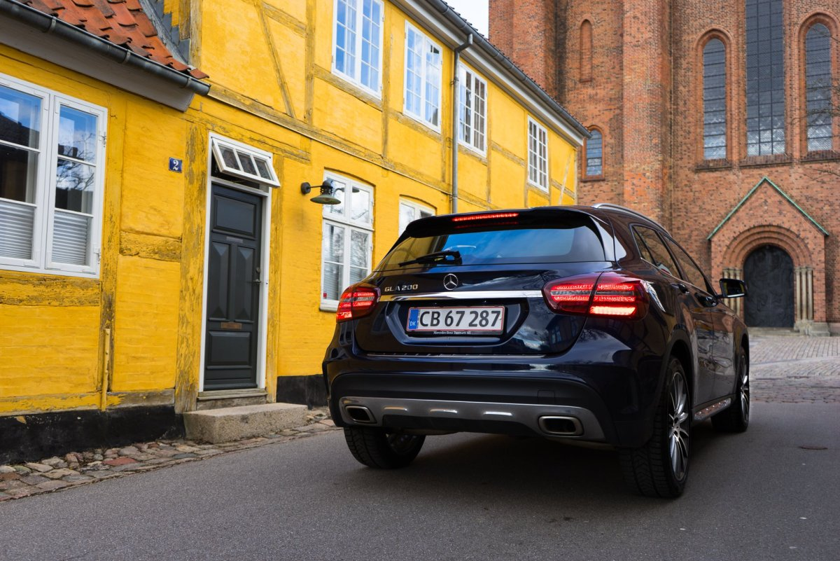 Mercedes-Benz GLA 200 Final Edition bagfra