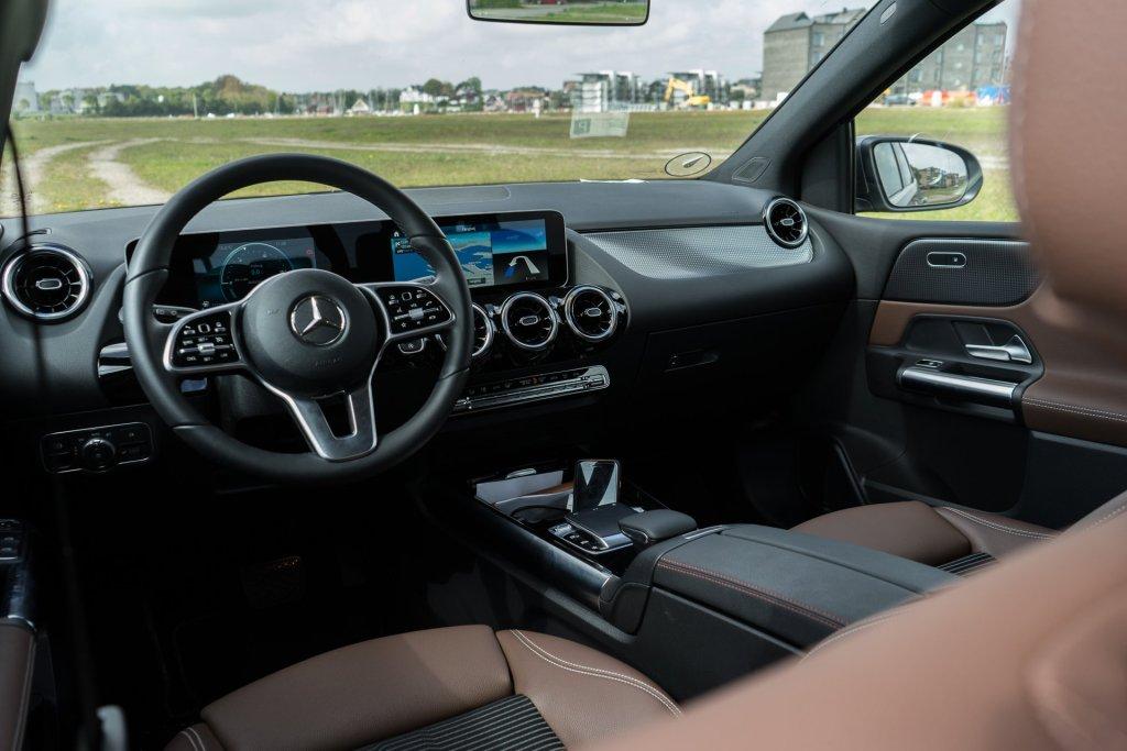 Mercedes-Benz B 180 forsæde