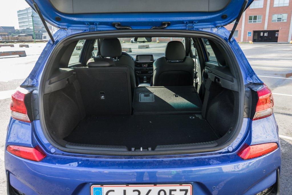Hyundai i30 N-Line bagagerum