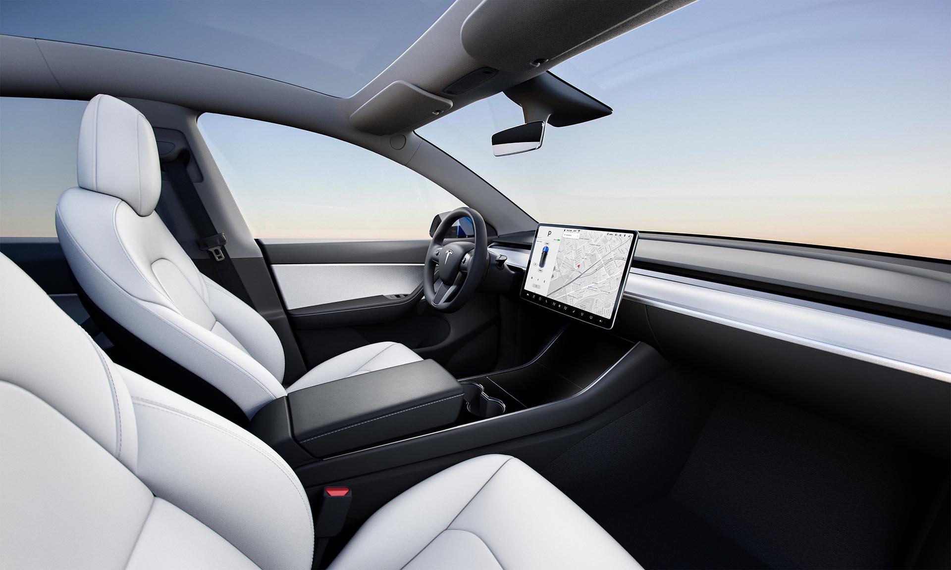 Tesla Model Y interiør