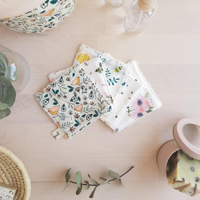 lingettes lavables cadeau naissance made in france boutique idee bebe enfant lyon bilboquet