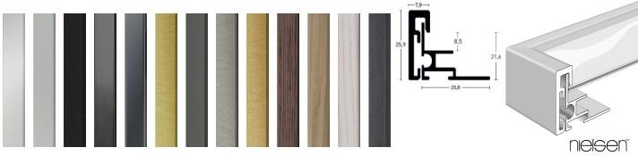 Alpha Magnetwechselrahmen in vielen Formaten und Farben