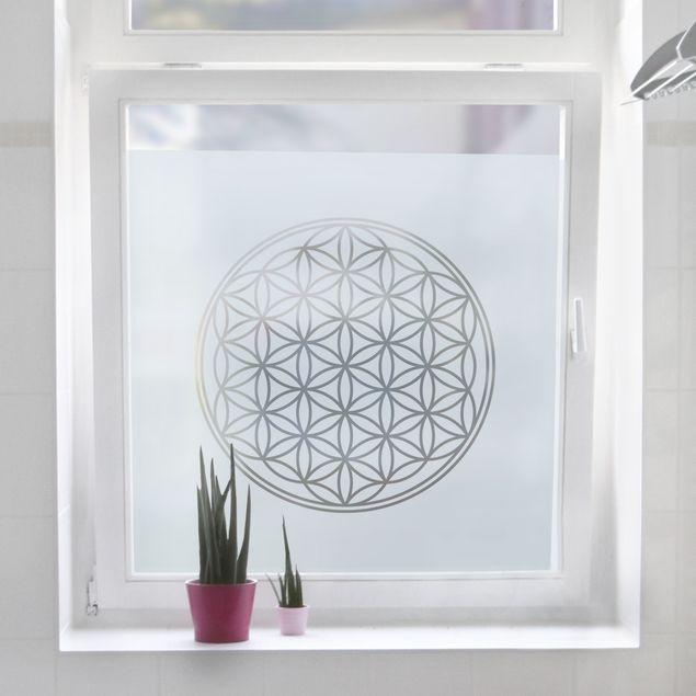 Glastur Aufkleber Fensterfolie Motiv 2 Streifen Deko Buro Diele