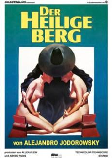 DER HEILIGE BERG Kinoplakat