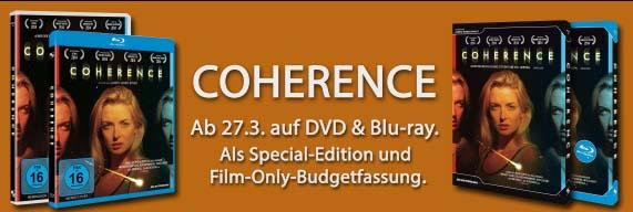 Coherence der Film auf DVD & Blu-ray,