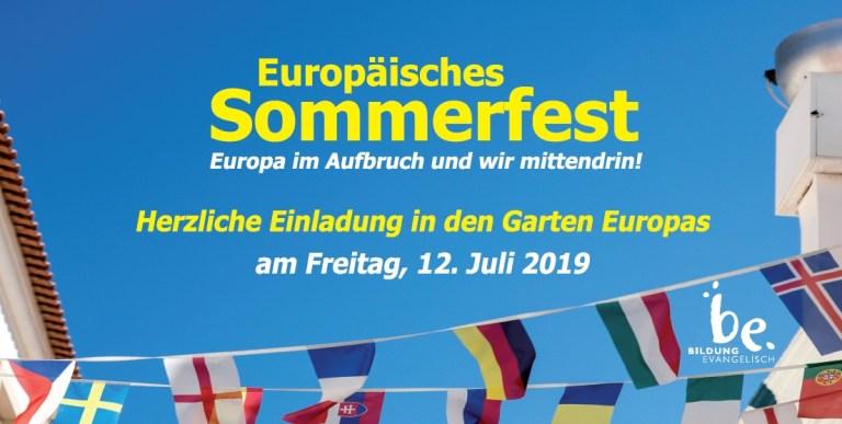 Sommerfest Einladung 2019