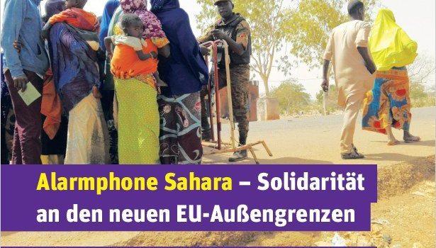 Flyer Alarmphone Sahara