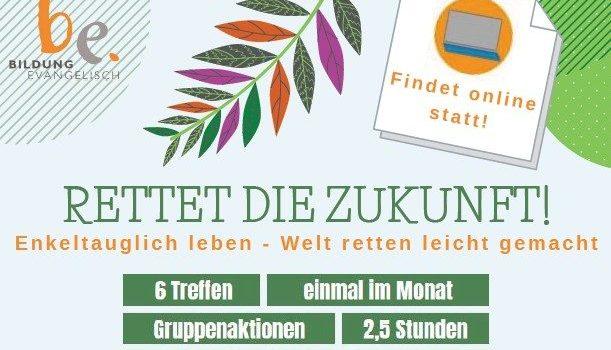 RETTET DIE ZUKUNFT! online!