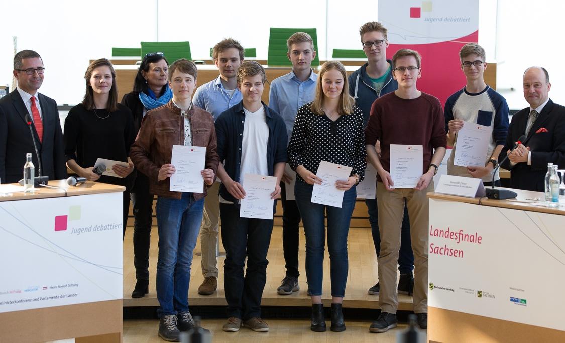Gewinner Jugend debattiert