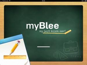 myBlee Startbildschirm