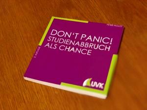 """Buch für Studienzweifler """"Don't Panic"""""""