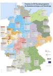 Karte der bundesweiten Bleiberechtsprojekte