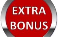 Bonus Dublu pe tot weekendul (26/27 August 2017)