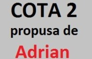 COTA 2 propusa de Adrian (06.01.2017)