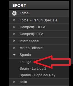 Pariaza pe fotbal la Fortuna