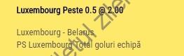 Biletul zilei COTA 2 propus de BZ7 (31.08.2017)