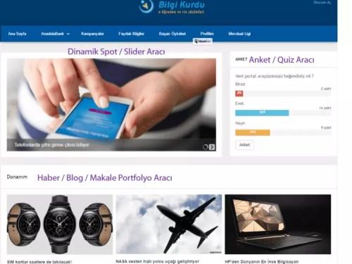 , Bilgi Kurdu Sosyal Öğrenme Platformu – Kurum İçi İletişim Portalı