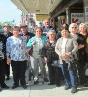 Albanian Seniors visit the FOX 2015