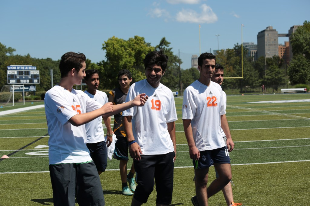 Bilingual International Staff Organizes Immigrant/Refugee Soccer Team