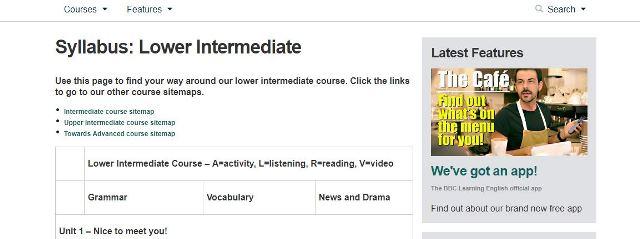 Free English courses BBC
