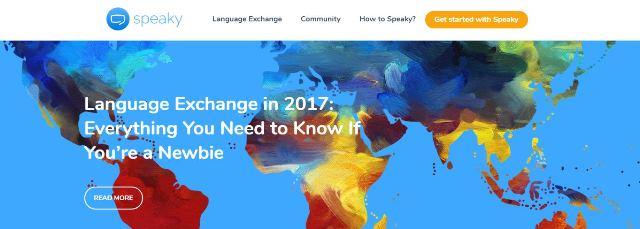 Speaky Language Exchange