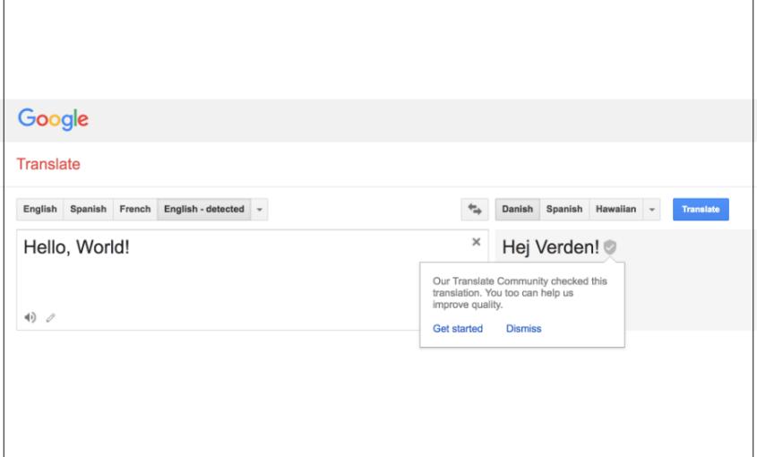 Google Translate Nordic