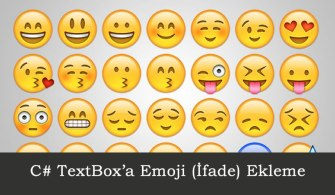 C# TextBox'a Emoji Ekleme