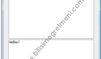 Visual Studio C# Dersleri – CheckedListBox Kullanımı