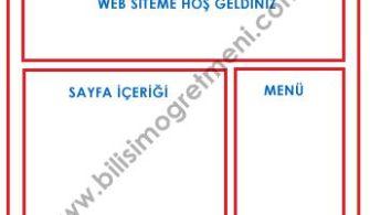 Html Tablo Site Tasarım Şablonları