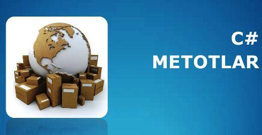 C# Metotların Geriye Bilgi Göndermeleri