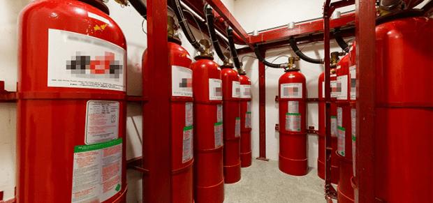 datacenter fire systems