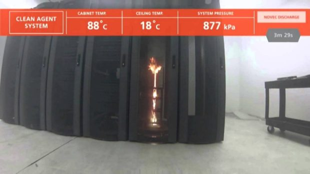 Sistem odası yangın