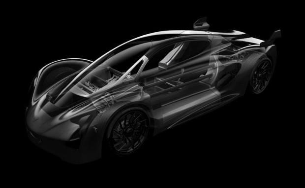 Dünyanın İlk 3 Boyutlu Yazıcıyla Üretilen Süper Spor Otomobili
