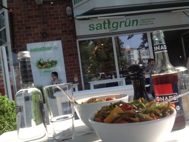sattgrün – vegetarisches & veganes Essen