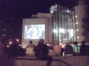 Hafenlichtspiele auf dem Ueckerplatz