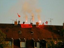 Den Verhältnissen auf's Dach steigen