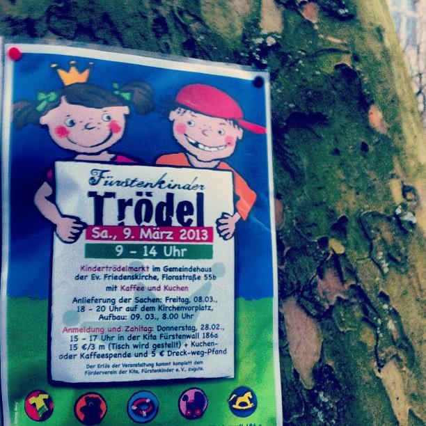 Nächste Woche ist Kinder-Flohmarkt an der Friedenskirche in Bilk